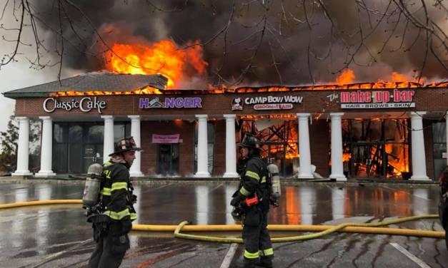 OOA: Cherry Hill- Strip Mall Fire