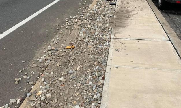 BRICK: Hit & Run Driver Sought- Causes Property Damage