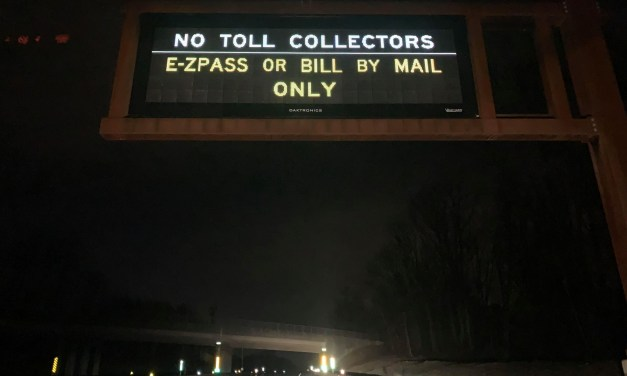 Cash toll collections suspended on the Turnpike and the Parkway