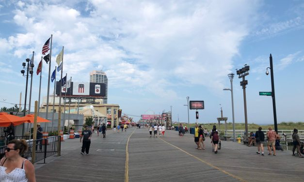 ATLANTIC CITY: Beach & Boardwalk to Remain Open