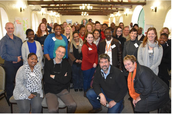 Hosts and participants at the Colloquium (Photo: GSRI, Wits University)