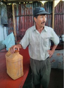 don Fernando Parra experto en cunchos con levadura local