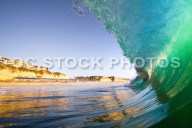 Waves Crashing on San Clemente Beach
