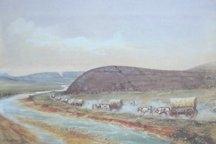 Independence Rock: William Henry Jackson print