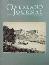 Overland Journal Volume 27 Number 1 Spring 2009