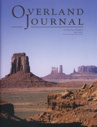 Overland Journal Volume 29 Number 3 Fall 2011