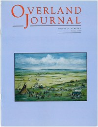 Overland Journal Volume 20 Number 3 Fall 2002