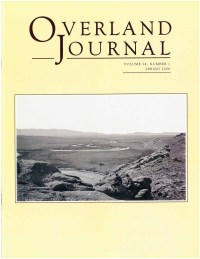 Overland Journal Volume 24 Number 1 Spring 2006