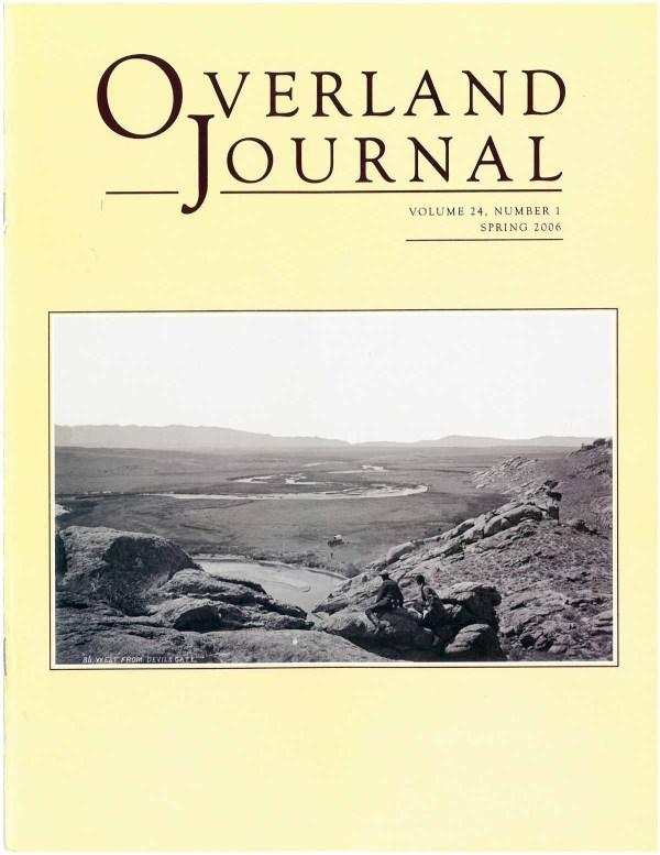 Overland Journal Volume 24 Number 1 Spring 2006