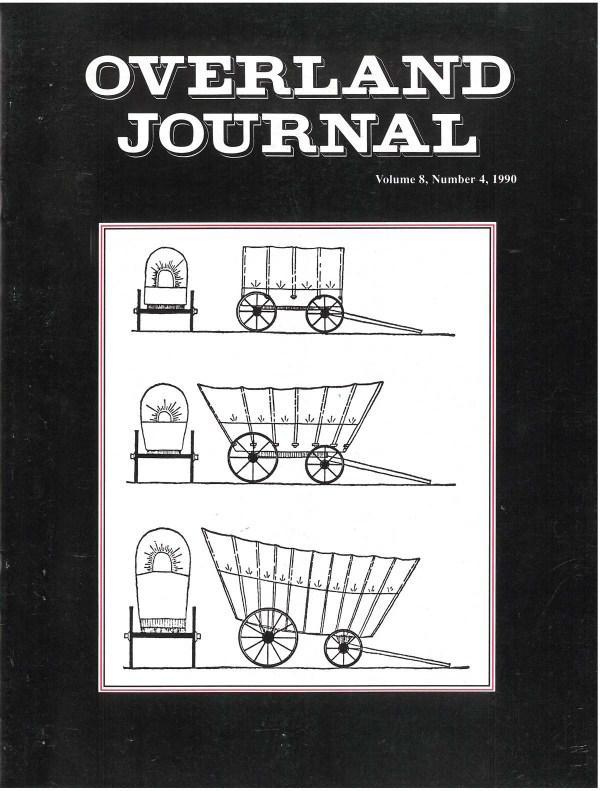 Overland Journal Volume 8 Number 4 1990