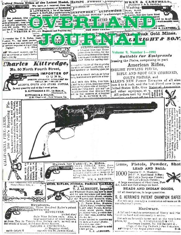 Overland Journal Volume 9 Number 4 1991