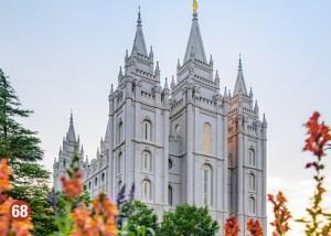 Temple Square - Mormon Temple - Salt Lake City, Utah