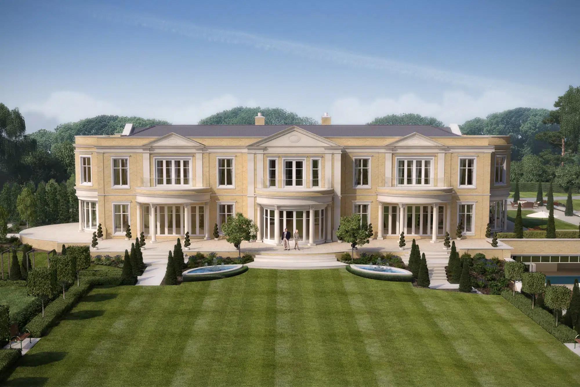8 Bed Bespoke Luxury Home Titlarks Hill Ascot