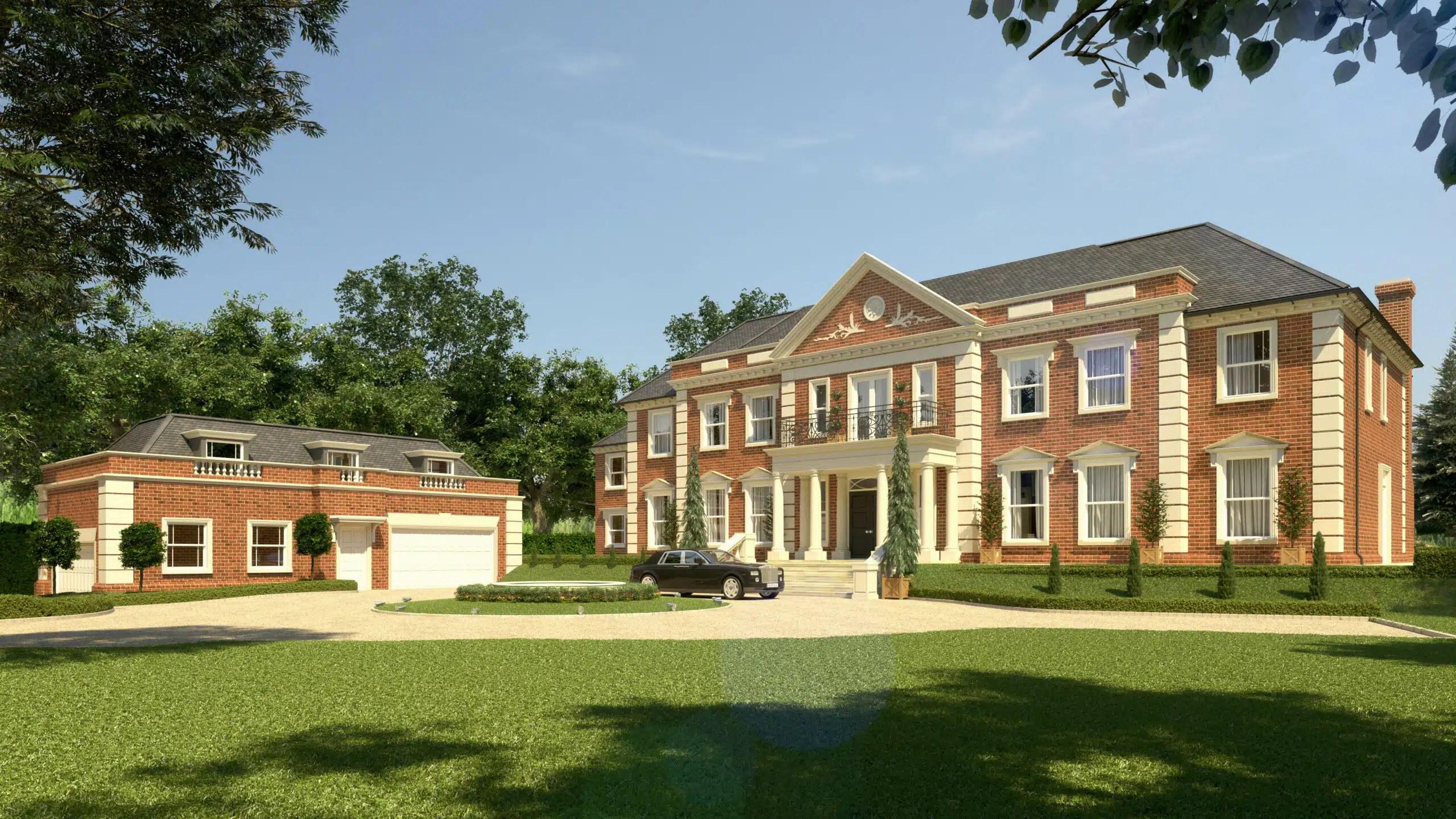 Large Luxury Home Titlarks Hill Ascot Berks