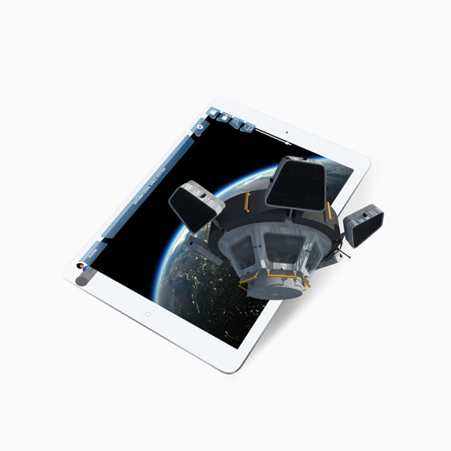 AR Adventure in Space App | UK Space Agency