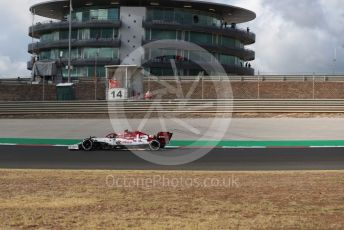 World © Octane Photographic Ltd. Formula 1 – F1 Portuguese GP, Practice 1. Alfa Romeo Racing Orlen C39 – Antonio Giovinazzi. Autodromo do Algarve, Portimao, Portugal. Friday 23rd October 2020.