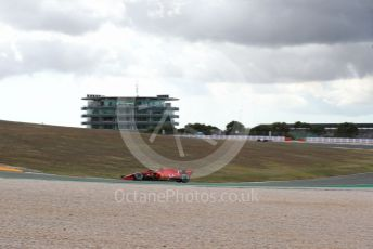 World © Octane Photographic Ltd. Formula 1 – F1 Portuguese GP, Practice 1. Scuderia Ferrari SF1000 – Sebastian Vettel. Autodromo do Algarve, Portimao, Portugal. Friday 23rd October 2020.