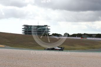 World © Octane Photographic Ltd. Formula 1 – F1 Portuguese GP, Practice 1. Haas F1 Team VF20 – Romain Grosjean. Autodromo do Algarve, Portimao, Portugal. Friday 23rd October 2020.