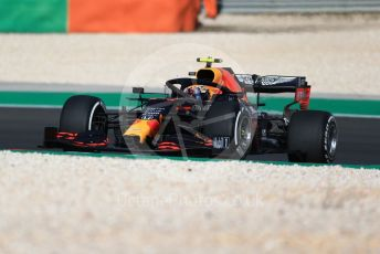 World © Octane Photographic Ltd. Formula 1 – F1 Portuguese GP, Practice 1. Aston Martin Red Bull Racing RB16 – Alexander Albon. Autodromo do Algarve, Portimao, Portugal. Friday 23rd October 2020.