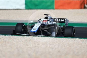 World © Octane Photographic Ltd. Formula 1 – F1 Portuguese GP, Practice 1. Williams Racing FW 43 – George Russell. Autodromo do Algarve, Portimao, Portugal. Friday 23rd October 2020.