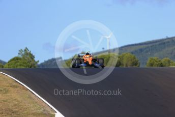 World © Octane Photographic Ltd. Formula 1 – F1 Portuguese GP, Practice 2. McLaren MCL35 – Lando Norris. Autodromo do Algarve, Portimao, Portugal. Friday 23rd October 2020.