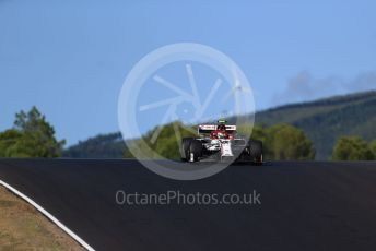 World © Octane Photographic Ltd. Formula 1 – F1 Portuguese GP, Practice 2. Alfa Romeo Racing Orlen C39 – Antonio Giovinazzi. Autodromo do Algarve, Portimao, Portugal. Friday 23rd October 2020.