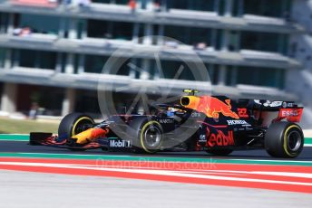 World © Octane Photographic Ltd. Formula 1 – F1 Portuguese GP, Practice 3. Aston Martin Red Bull Racing RB16 – Alexander Albon. Autodromo do Algarve, Portimao, Portugal. Saturday 24th October 2020.