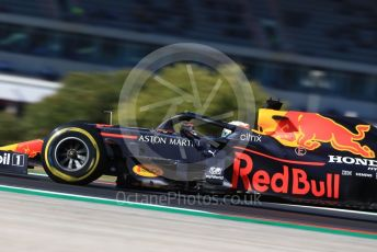 World © Octane Photographic Ltd. Formula 1 – F1 Portuguese GP, Practice 3. Aston Martin Red Bull Racing RB16 – Max Verstappen. Autodromo do Algarve, Portimao, Portugal. Saturday 24th October 2020.