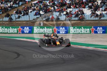 World © Octane Photographic Ltd. Formula 1 – F1 Portuguese GP, Race. Aston Martin Red Bull Racing RB16 – Max Verstappen. Autodromo do Algarve, Portimao, Portugal. Sunday 25th October 2020.