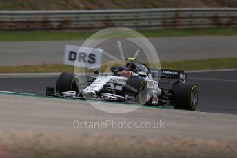 World © Octane Photographic Ltd. Formula 1 – F1 Portuguese GP, Race. Scuderia AlphaTauri Honda AT01 – Pierre Gasly. Autodromo do Algarve, Portimao, Portugal. Sunday 25th October 2020.