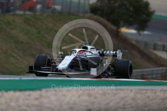 World © Octane Photographic Ltd. Formula 1 – F1 Portuguese GP, Race. Williams Racing FW 43 – George Russell. Autodromo do Algarve, Portimao, Portugal. Sunday 25th October 2020.