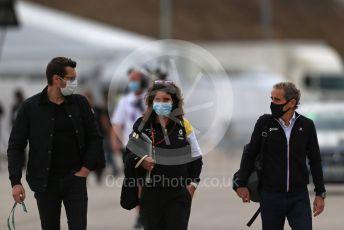 World © Octane Photographic Ltd. Formula 1 – F1 Portuguese GP. Alain Prost – Non-Executive Director Renault Sport Formula 1 Team. Autodromo do Algarve, Portimao, Portugal. Sunday 25th October 2020.