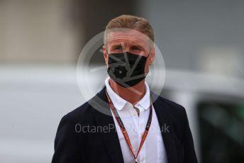 World © Octane Photographic Ltd. Formula 1 – F1 Portuguese GP. David Coulthard. Autodromo do Algarve, Portimao, Portugal. Sunday 25th October 2020.