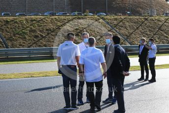 World © Octane Photographic Ltd. Formula 1 – F1 Portuguese GP, Track Walk. Michael Masi  Race Director, Safety Delegate and Permanent Starter and FIA technical staff. Autodromo do Algarve, Portimao, Portugal. Thursday 22nd October 2020.