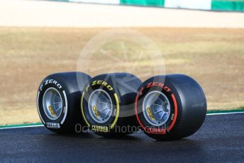 World © Octane Photographic Ltd. Formula 1 – F1 Portuguese GP, Pirelli tyres. Autodromo do Algarve, Portimao, Portugal. Thursday 22nd October 2020.