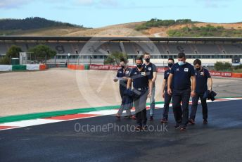 World © Octane Photographic Ltd. Formula 1 – F1 Portuguese GP, Track Walk. Scuderia AlphaTauri Honda AT01 – Daniil Kvyat. Autodromo do Algarve, Portimao, Portugal. Thursday 22nd October 2020.