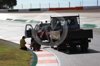 World © Octane Photographic Ltd. Formula 1 – F1 Portuguese GP. Track preparations. Autodromo do Algarve, Portimao, Portugal. Thursday 22nd October 2020.