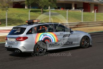 World © Octane Photographic Ltd. Formula 1 – F1 Portuguese GP, Track Walk. Mercedes-Benz AMG Medical car. Autodromo do Algarve, Portimao, Portugal. Thursday 22nd October 2020.  #WeRaceAsOne