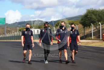 World © Octane Photographic Ltd. Formula 1 – F1 Portuguese GP, Track Walk. Aston Martin Red Bull Racing RB16 – Alexander Albon. Autodromo do Algarve, Portimao, Portugal. Thursday 22nd October 2020.