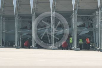 RAF Coningsby. Eurofighter Typhoons in the new hangars. 2nd June 2021. World © Octane Photographic Ltd.