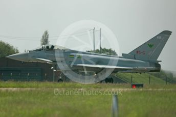 RAF Coningsby. Eurofighter Typhoon FGR4 ZJ935 (9 Sqn WS-G) ready for takeoff. 2nd June 2021. World © Octane Photographic Ltd.