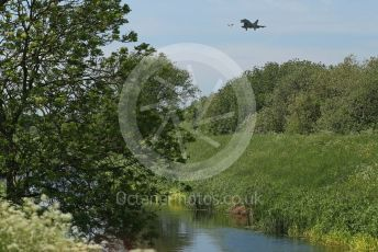 RAF Coningsby. Eurofighter Typhoon T3 ZK383 (12 Sqn) comes in to land. 2nd June 2021. World © Octane Photographic