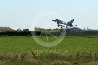 RAF Coningsby. Eurofighter Typhoon T3 ZK379 comes in to land. 2nd June 2021. World © Octane Photographic