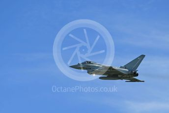 RAF Coningsby. Eurofighter Typhoon FGR4 ZK365 takes off. 2nd June 2021. World © Octane Photographic
