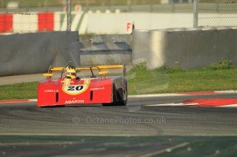 © Octane Photographic Ltd. 2011 Masters Racing Espiritu de Montjuic, April 8th 2011. Sportscar practice. Digital Ref : 0043CB1D0075