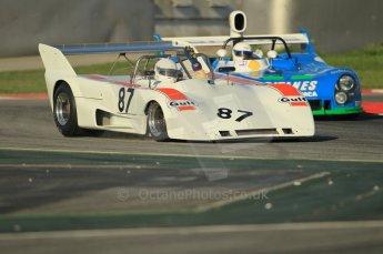 © Octane Photographic Ltd. 2011 Masters Racing Espiritu de Montjuic, April 8th 2011. Sportscar practice. Digital Ref : 0043CB1D0123