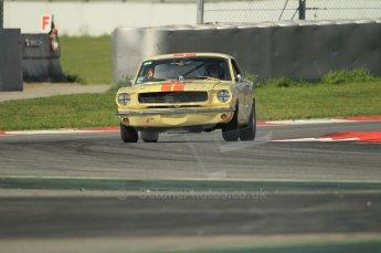 © Octane Photographic Ltd. 2011 Masters Racing Espiritu de Montjuic, April 8th 2011. Sportscar practice. Digital Ref : 0043CB1D0383