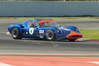 © Octane Photographic Ltd. 2011 Masters Racing Espiritu de Montjuic, April 9th 2011. World Sportscar Masters qualifying. Digital Ref : 0043CB1D0786