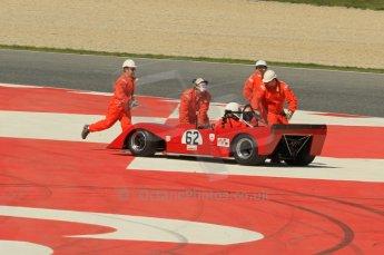 © Octane Photographic Ltd. 2011 Masters Racing Espiritu de Montjuic, April 9th 2011. World Sportscar Masters qualifying. Digital Ref : 0043CB1D0803
