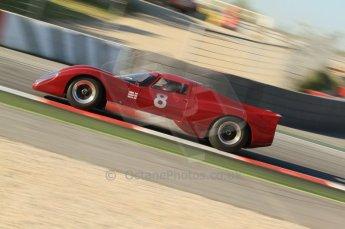 © Octane Photographic Ltd. 2011 Masters Racing Espiritu de Montjuic, April 8th 2011. Sportscar practice.  Digital Ref : 0043CB7D0058